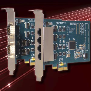 Four Port PCI-Express Multi-protocol Serial Cards